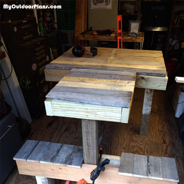 Pallet Shooting Bench - DIY Project
