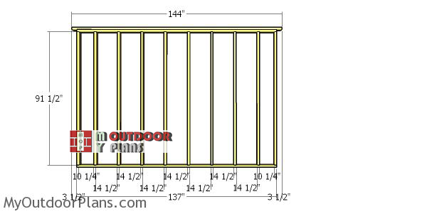 Side-wall-frame-for-12x18-lean-to-storage-shed