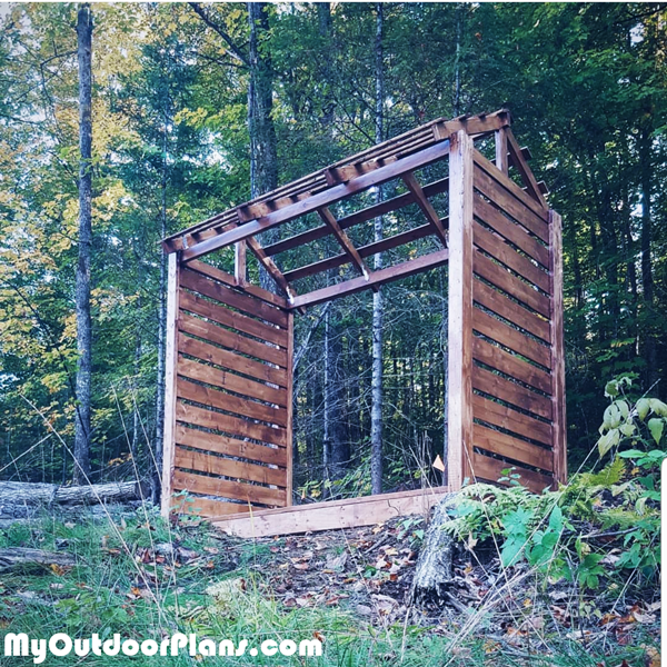 Small-firewood-shed---DIY-Project