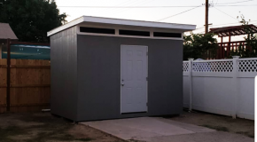 DIY 10×12 Lean to Shed