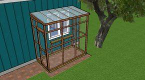 4×8 Catio – Free DIY Plans