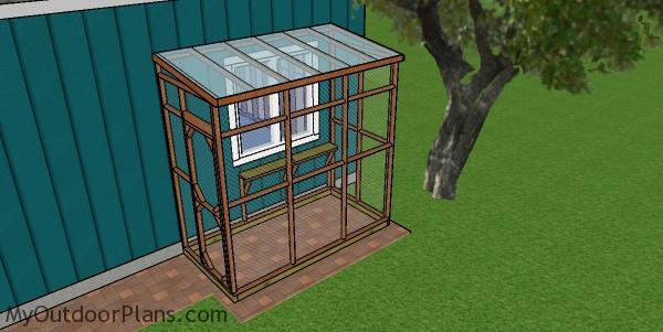 4x8 Catio - Free DIY Plans