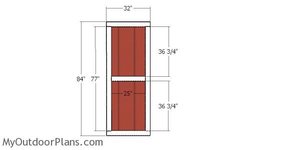 Building the side door