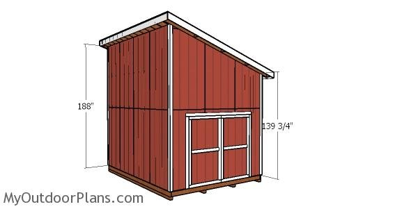 Corner trims for 12x16 shed