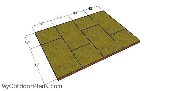 Floor sheets - cabin