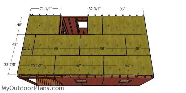 Floor sheets for loft