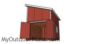 How to build a 12x16 lean to shed with loft