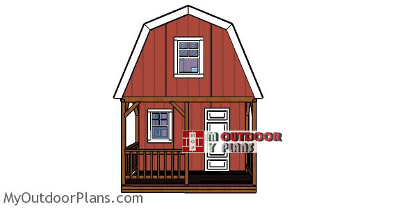 How-to-build-a-12x22-barn-cabin-with-loft-and-porch