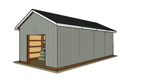 16×32 Pole Barn – Free DIY Plans