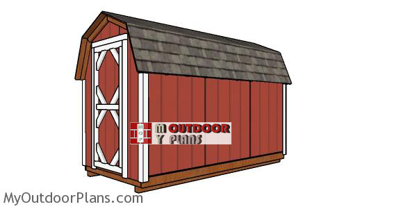 How-to-build-a-6x12-gambrel-shed