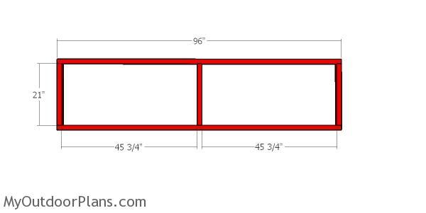 Side frames - cat tunnel B