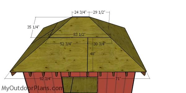 Side roof sheets