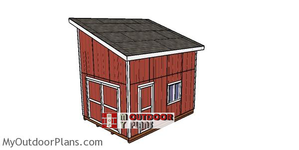 12x16-lean-to-shed-with-loft-DIY-Project