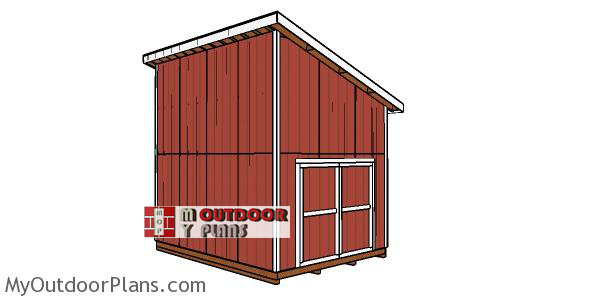12x16-lean-to-shed-with-loft-plans