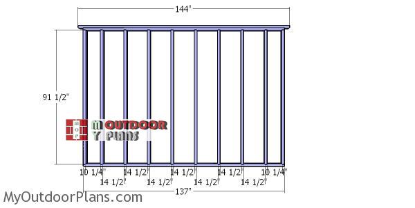 Back-wall-frame-for-12x16-dormer-shed
