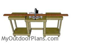 Build a miter saw station
