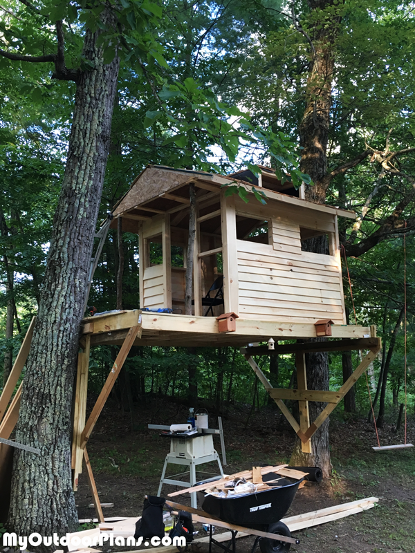 Diy Tree House Myoutdoorplans Free Woodworking Plans And