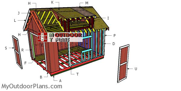 Building-a-shed-with-dormer