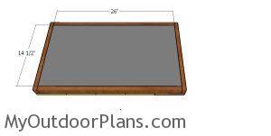 Cat house floor insulation
