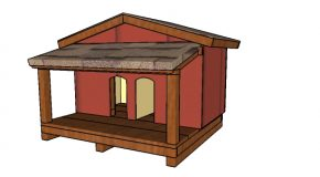 Double Cat House with Insulation Plans
