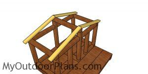 Fitting the rafters - double cat house