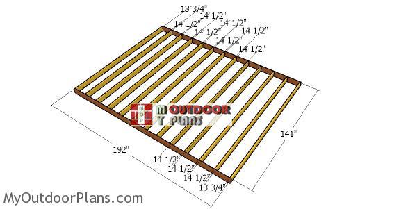 Floor-frame-for-12x16-shed
