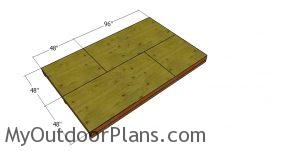 Floor sheets - 8x12 shed