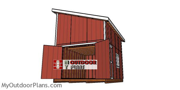 How-to-build-a-12x16-shed-with-a-lean-to-roof-and-loft
