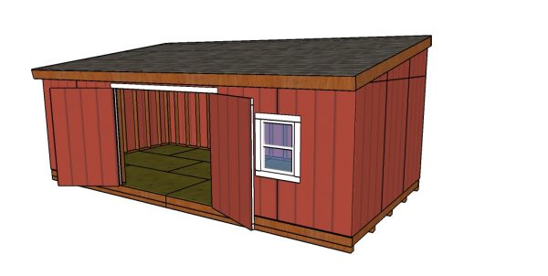 How to build a 12x24 lean to shed