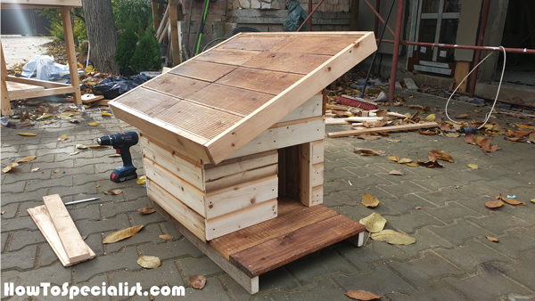DIY Insulated Cat House