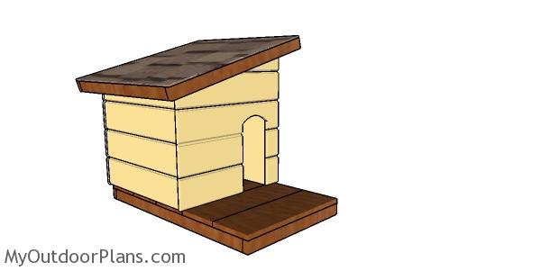 Simple Insulated Cat House Plans