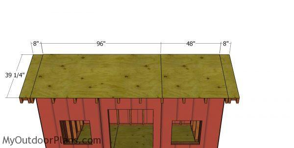 Roof sheet 2