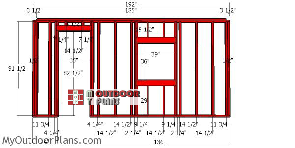 Side-wall-frame-with-window---12x16-dormer-shed