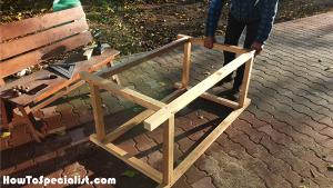 Workbench-frame-assembly