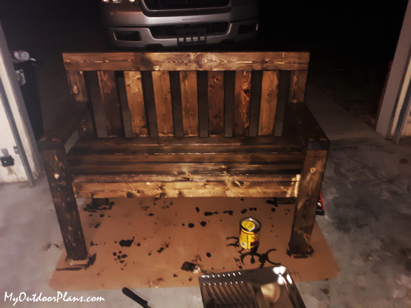 DIY Project - 2x4 Garden Bench