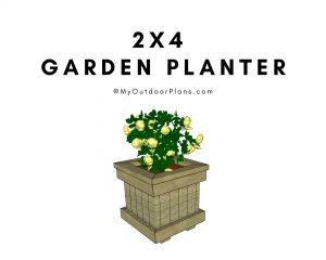 2x4 Garden Planter