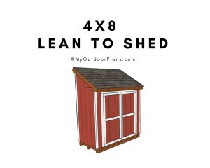 4x8 Shed