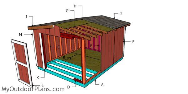 Building a 8 ft high shed