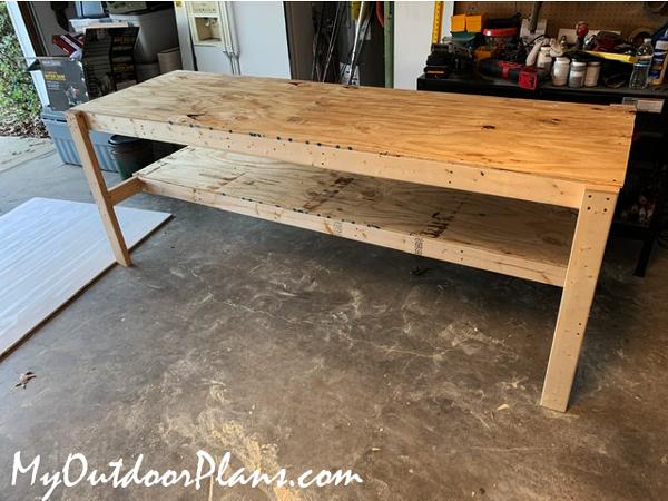 Building-a-garage-workbench