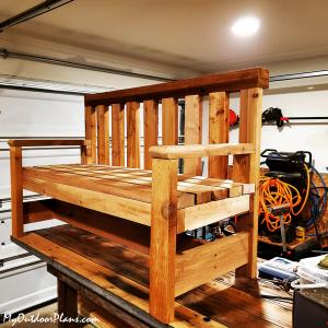 Cedar-Bench---2x4