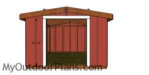 Door jambs - 8x10 short shed