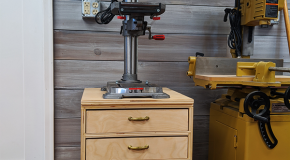 Drill Press Stand – DIY Project