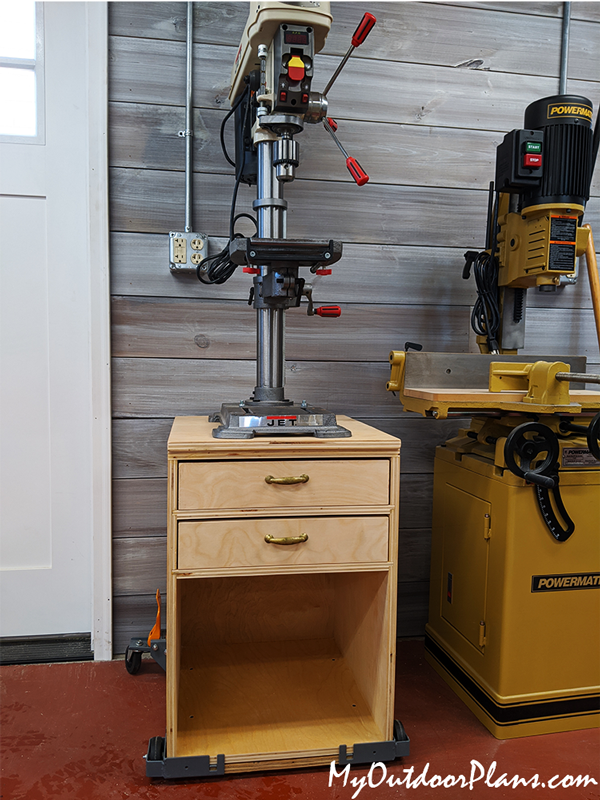 Drill Press Stand - DIY Project