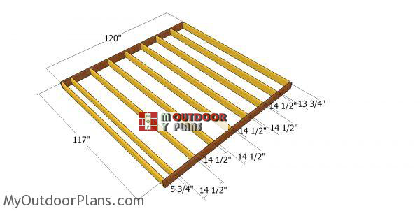 Floor-frame-for-10x10-saltbox-shed