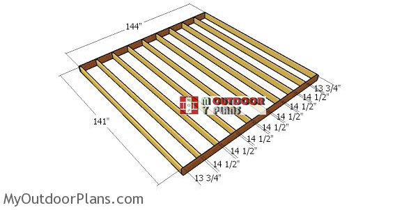 Floor-frame-for-12x20-shed