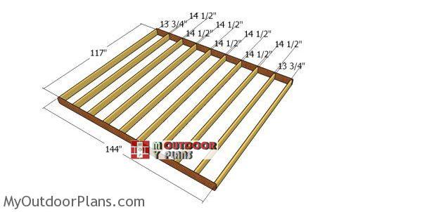 Floor-frame-for-short-shed
