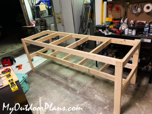 Garage-Workbench-Frame