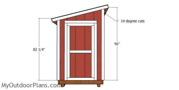 Wall trims - 5x6 shed