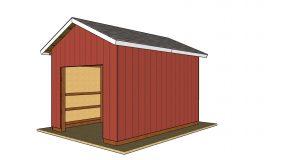 12×16 Pole Barn Plans