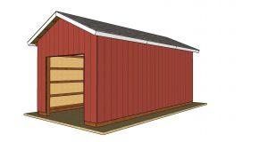 12×24 Pole Barn Plans – Free PDF Download